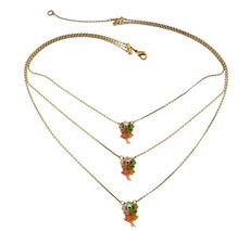Michal Negrin Classic 3 Rows Necklace - 100-116180
