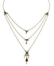 Michal Negrin Classic 3 Rows Necklace - 100-118190