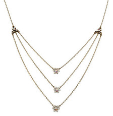 Michal Negrin Classic 3 Rows Necklace - 100-118280
