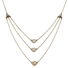 Michal Negrin Classic 3 Rows Necklace - 100-118290