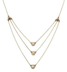 Michal Negrin Classic 3 Rows Necklace - 100-118310