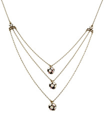 Michal Negrin Classic 3 Rows Necklace - 100-118340
