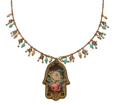 Large Hamsa Necklace By Michal Negrin Classic