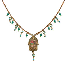 Michal Negrin Classic Small Hamsa Necklace
