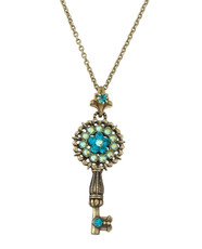 Michal Negrin Kabbalah Key Necklace From The Classic Collection - 100-124530-008