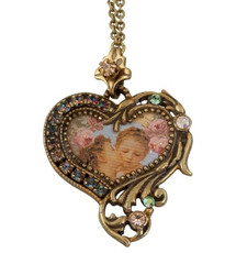 Michal Negrin Classic Heart Necklace