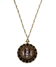 Kabbalah Protection Locket Necklace - 100-125680