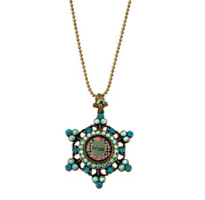 Michal Negrin Classic Kabbalah Star Of David Necklace