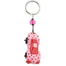 Orna Lalo Keyring Pink Car