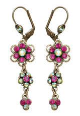 Lovely Earrings From The Michal Negrin Classic - Multi Color