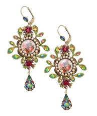 Michal Negrin Medallions Hook Earrings - Multi Color