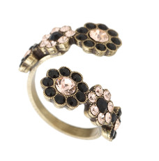 A Lovely Adjustable Ring From The Michal Negrin Classic Collection - Multi Color