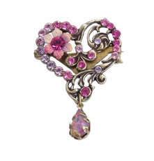 Michal Negrin Classic Pins Brooches - Multi Color