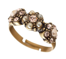 Michal Negrin Three Flowers Ring - Multiple Options