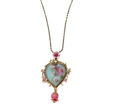 Michal Negrin Classic Necklace Heart - 100-151010-004 - Multi Color