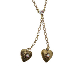 Heart Locket Necklace From The Michal Negrin Classic Collection