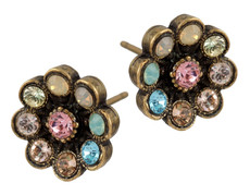Michal Negrin Jewelry Post Crystal Earrings - 100-129782-022