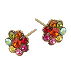 Michal Negrin Jewelry Post Crystal Earrings - 100-129832-073