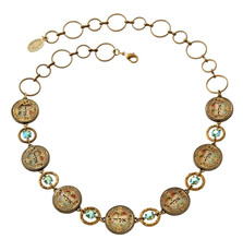 Michal Negrin Jewelry Kabbalah Necklace
