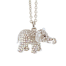 A Unique Elephant Necklace Silver Necklace From Andrew Hamilton Crawford Jewelry