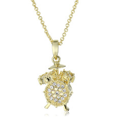 A Gorgeous Drum Set Necklace Gold Necklace From Andrew Hamilton Crawford Jewelry