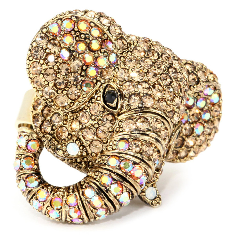 Hamilton Crawford   Elephant Ring Gold Rings