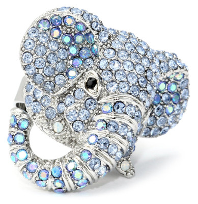Andrew Hamilton Crawford Elephamt Ring Silver Rings