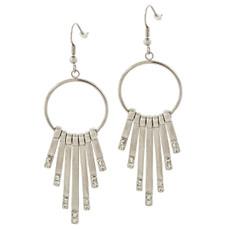 Andrew Hamilton Crawford Farrah Earrings Silver Earrings