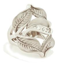 Andrew Hamilton Crawford Jewelry Petal Ring Silver Rings