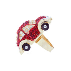 A Gorgeous Herbie Ring Gold Red Rings From Andrew Hamilton Crawford Jewelry