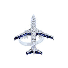 A Beautiful Jet Ring Ring From Andrew Hamilton Crawford Jewelry