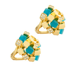 Andrew Hamilton Crawford Jewelry Confetti Ring Gold Ring