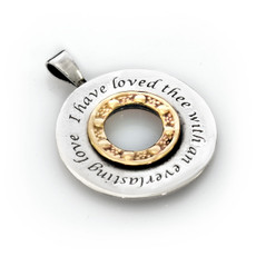 Moriah Kabbalah Jewelry Eternal Love Pendant