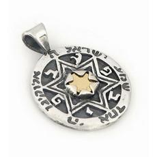 Five Metals Pendant From Moriah Kabbalah Jewelry