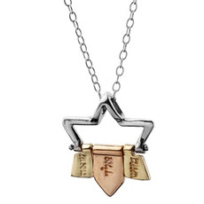 72 Names Of God Star Of David Kabbalah Pendant