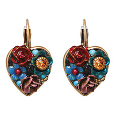 Michal Golan Jewelry Eden Heart Pendant Earring
