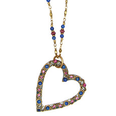 Michal Golan Jewelry Florence Open Heart Necklace