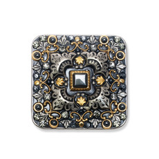 Michal Golan Jewelry Metallica Large Square Pin