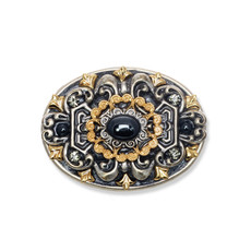 Michal Golan Jewelry Metallica Oval Pin
