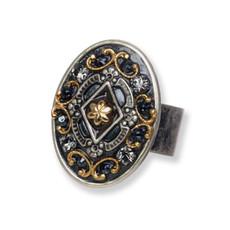 Michal Golan Jewelry Metallica Oval Ring