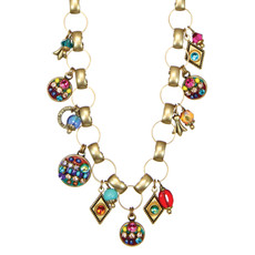 Michal Golan Jewelry Multibright Charms Necklace