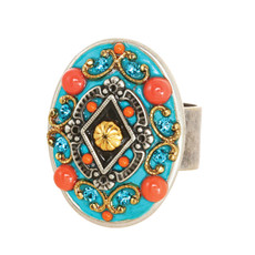 Michal Golan Jewelry Oval Ring