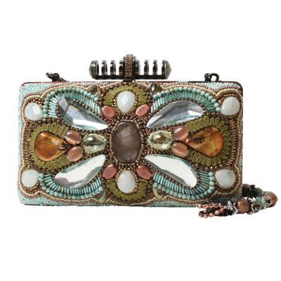 Blue Grotto Handbag From Mary Frances Handbags
