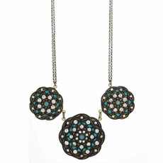 Michal Golan Necklace W/ Large Flower