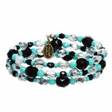 Michal Golan Beaded Coil Bracelet