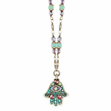 Evil Eye Hamsa Necklace By Michal Golan