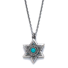 Michal Golan Silver Star Of David