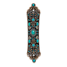 Michal Golan Colored Stones Mezuzah