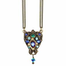 Michal Golan Jewelry Peacock Necklace