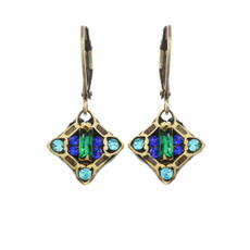 Peacock Earrings From Michal Golan Jewelry